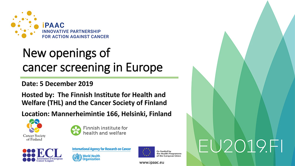 iPAAC - New openings of cancer screening in Europe