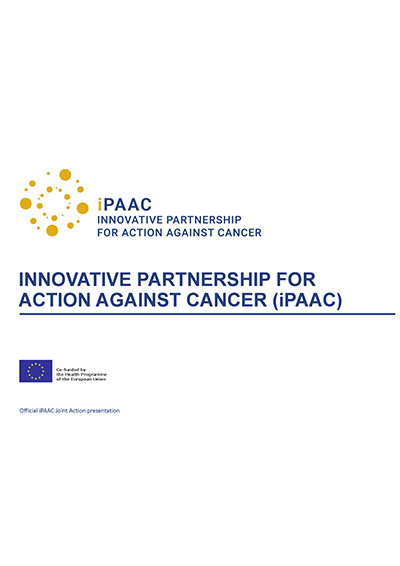 Official presentation of the iPAAC Joint Action